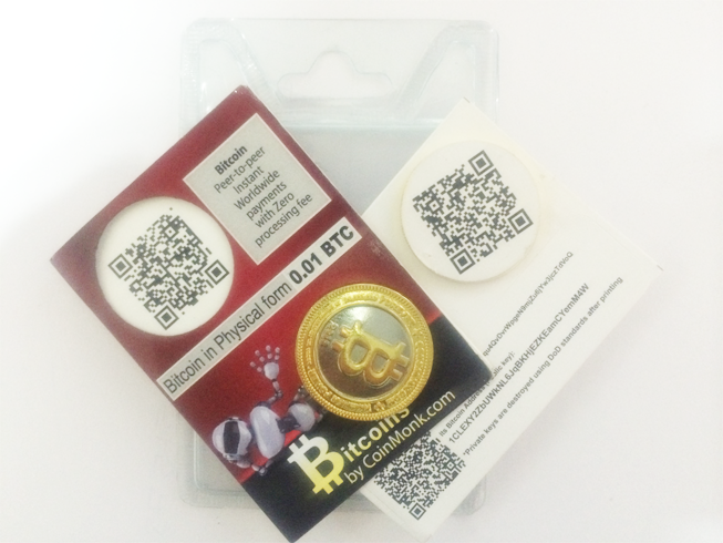 physical coin package contents